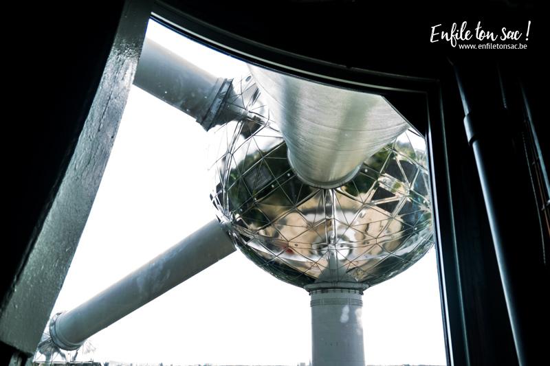 atomium boule Redécouvrir ou découvrir l Atomium de Bruxelles