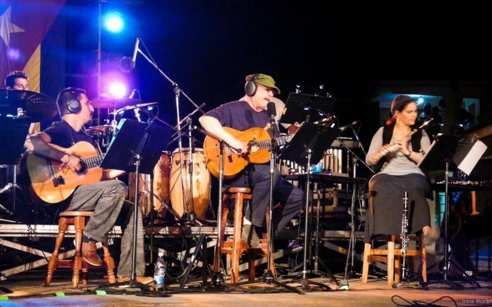 08 concierto de Silvio en Punta braba gira en los barrios