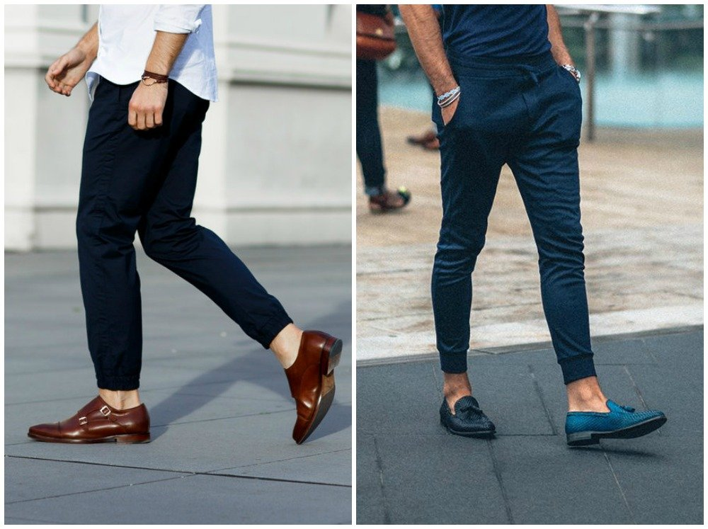 3 Ways to Wear Jogger Pants in 2016 : Dress up