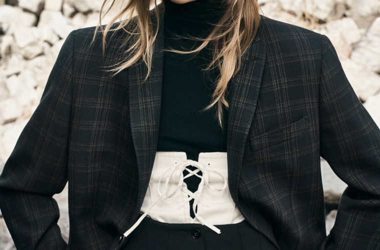 grandpa style checkered blazer trend