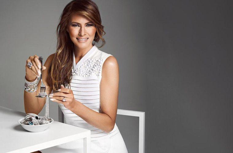 Melania Trump fashion rebel