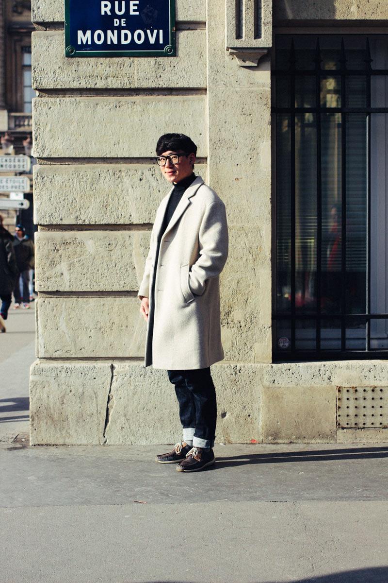 LOOK XIII: Rue Rivoli - Overcoat