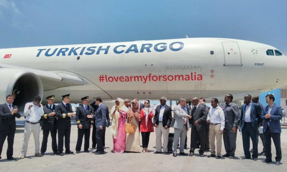 Turkish Airlines for Somalia