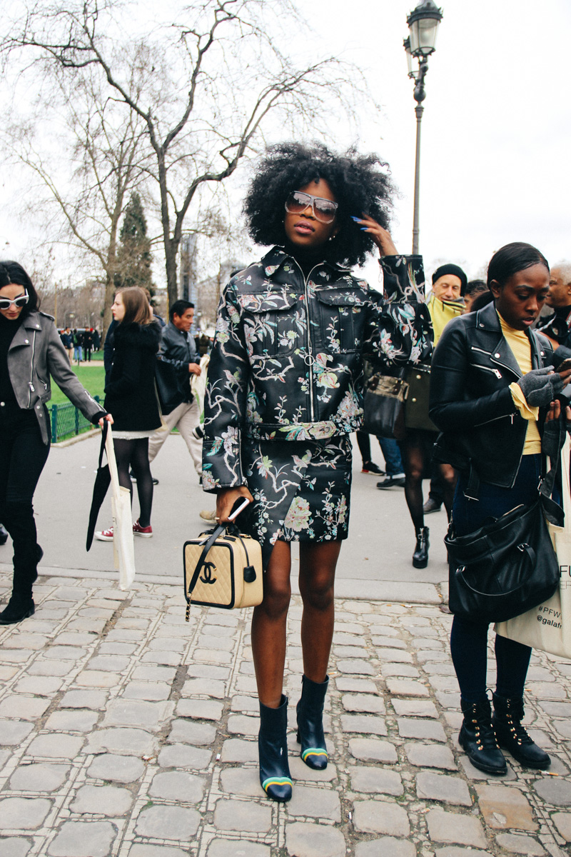 LOOK XXVI: Before Chanel show in Paris - FW17 street style