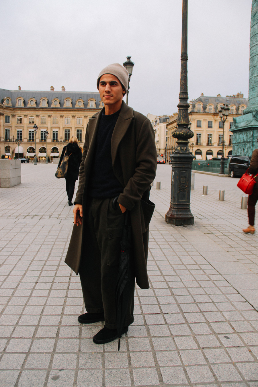 LOOK XXIX: Coat game at Place Vendome