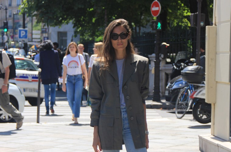 LOOK XXXVIII: Casual Parisian Style - Paris Street Style by Enfnts Terribles