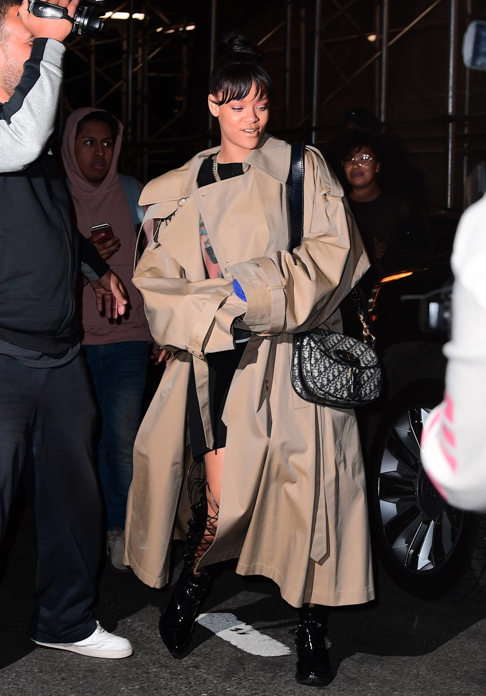 Rihanna Dior Oblique Canvas bag