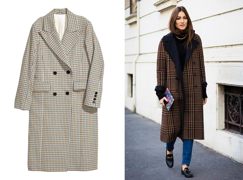 FW17 Trend Prince Of Wales Checkered Coat