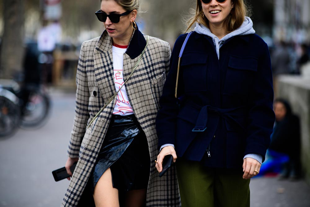 Winter Must-Have Checkered Coat