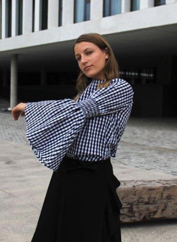 LOOK LV: Asymmetric skirt on the job - ENFNTSTERRIBLES