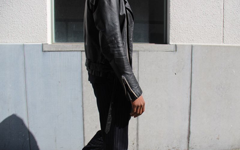 LOOK LVI: Biker Jacket