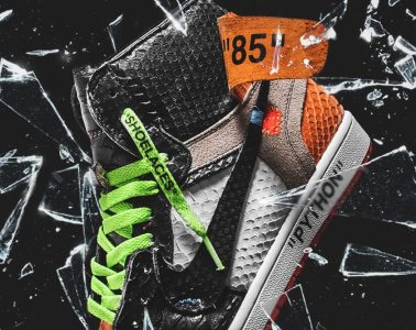 Here's Where To Cop The Shoe Surgeon Shattered Python sneaker