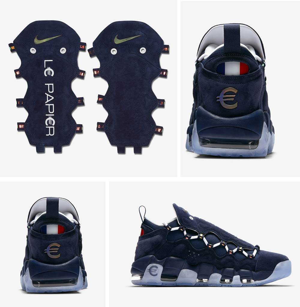 Nike Air More Money 'Global Currency' Pack: French Euro