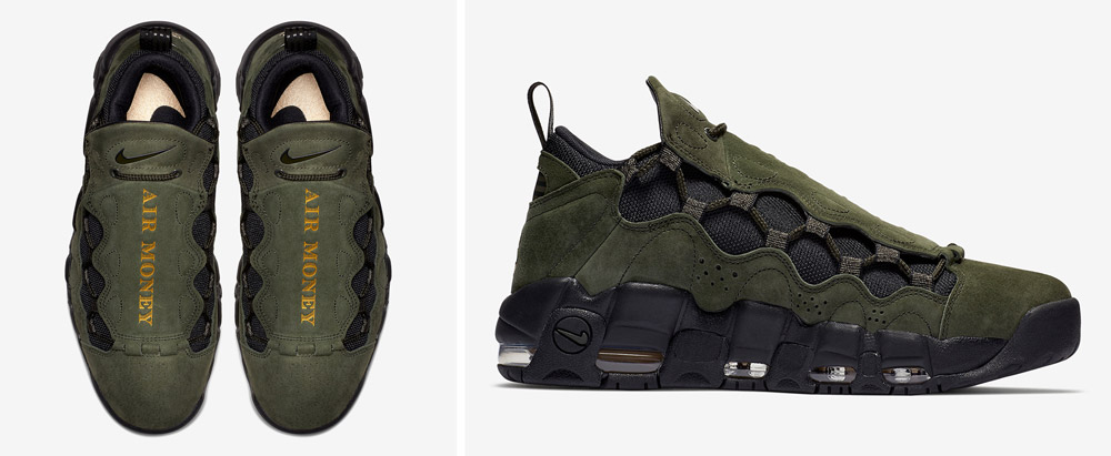 Nike Air More Money 'Global Currency' Pack: US dollar