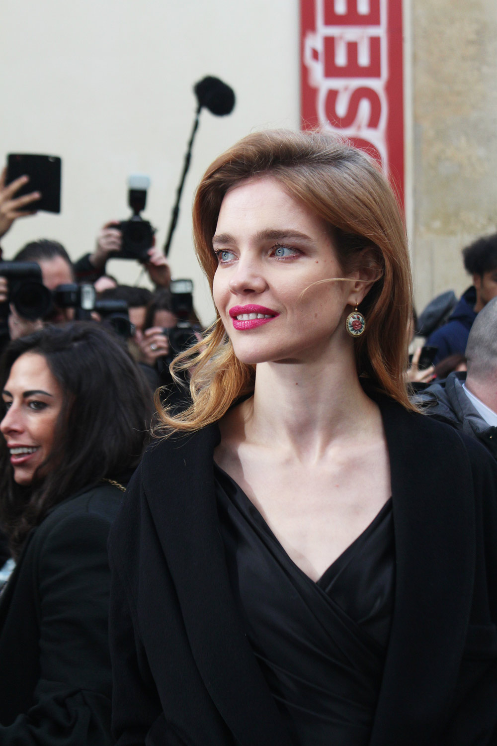 Natalia Vodianova at Paris Couture Week