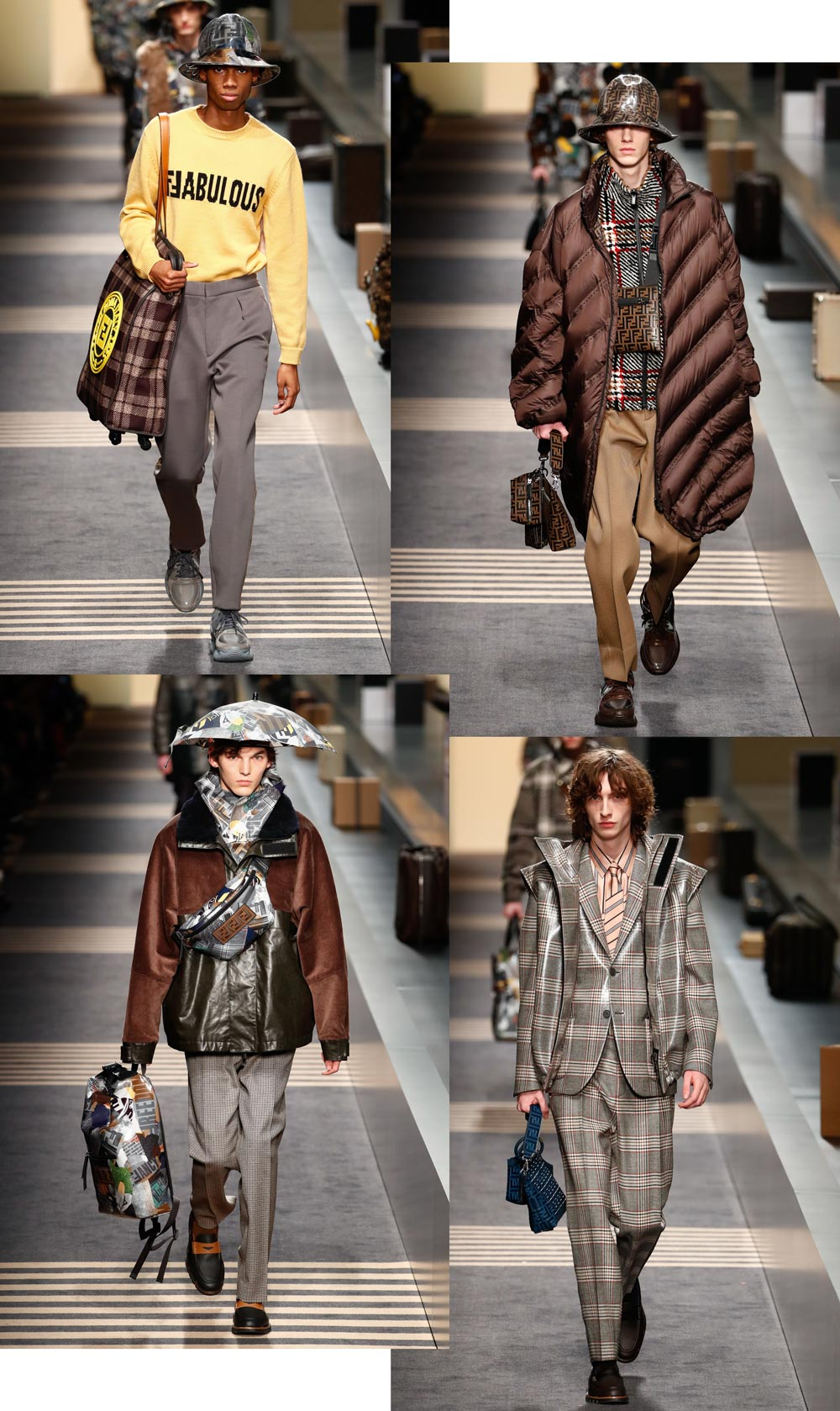 Fendi FW18 Silhouettes From Milan Fashion Week