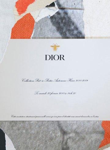 Watch Christian Dior Fall Winter 2018 Runway Show in Paris