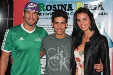 Diego Cristo, Jefferson Mascarenhas e Lorena Bueri