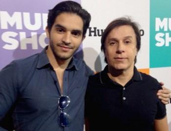 Rafael Grisoste e Tom Cavalcanti