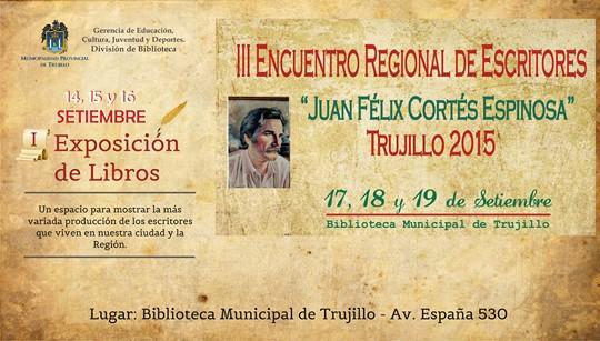 EVENTOS DE LETRAS EN TRUJILLO