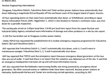 Japan initiates emergency protocol after earthquake