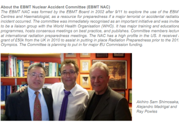 EBMT Nuclear Accident Committee (EBMT NAC)