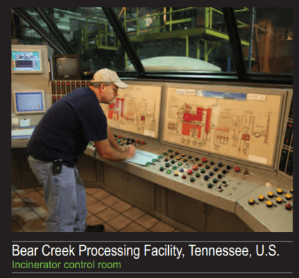 Bear Creek Processing Facility, Tennessee, U.S.