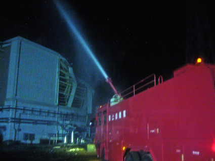 Fukushima Daiichi - Unit 3 Water Discharge Operations - March 17th, 2011 - 2012 - 1  - Enformable