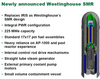 Westinghouse Small Modular Reactor