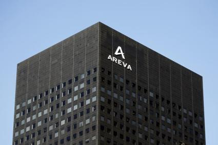 View of France's nuclear reactor maker Areva headquarters in the financial district of la Defense near Paris