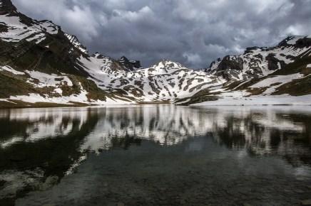 lac Lauzanier dans le Mercantour