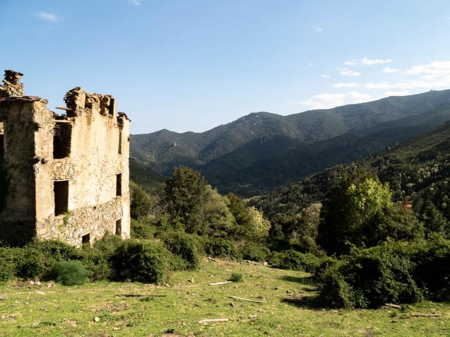 Village abandonné de Rosse - Corse