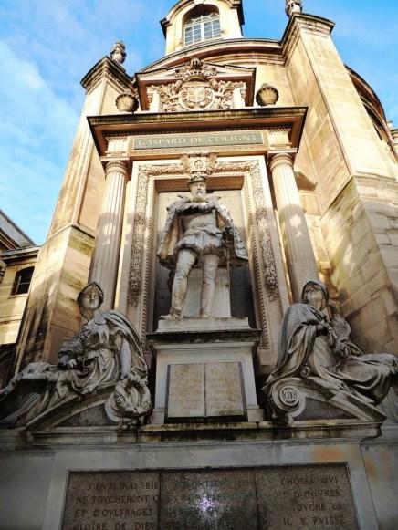 Statue de l'amiral de Coligny