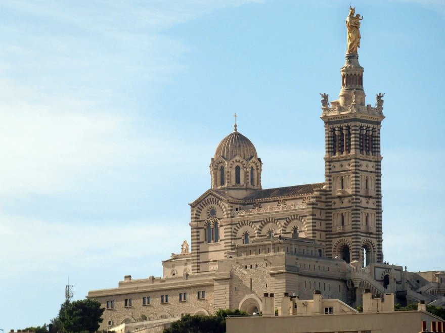 statue Notre-Dame-de-la-Garde