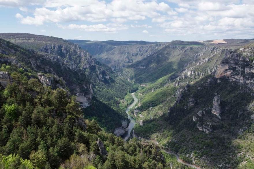 les gorges du Tarn en Lozere