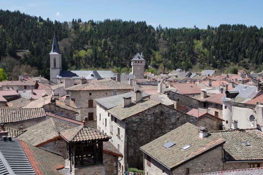 le village du Malzieu en Lozère