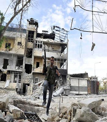 Arab allies limit Syrian rebel aid 'over US fears'
