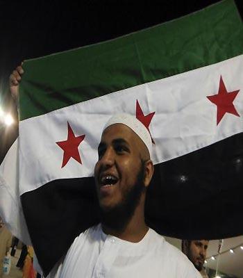 Saudi authorities disperse anti-Assad protest in Mecca