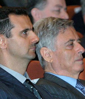 Syria's Assad threatened Hariri -Syrian ex-VP