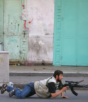 Hamas militia off streets after Abbas challenge