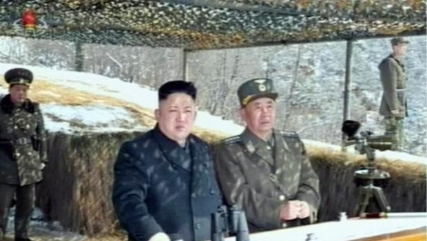 """North Korea's Kim Supervises """"Drone Attack"""" Drill"""