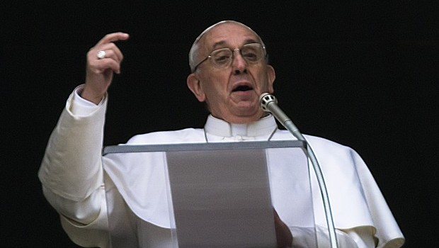 At first Christmas as pope, Francis urges openness to God