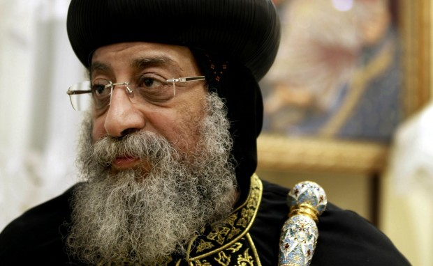 Egypt Pope Rebukes Mursi over Cathedral Siege