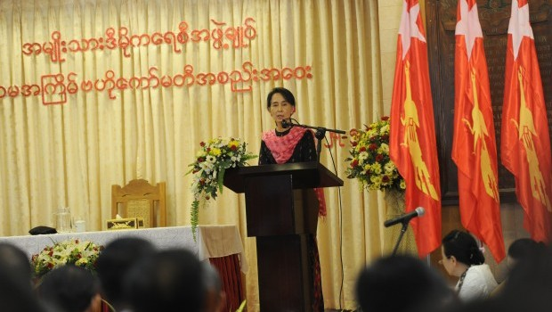 Myanmar's Suu Kyi slams 2-child limit for Muslims