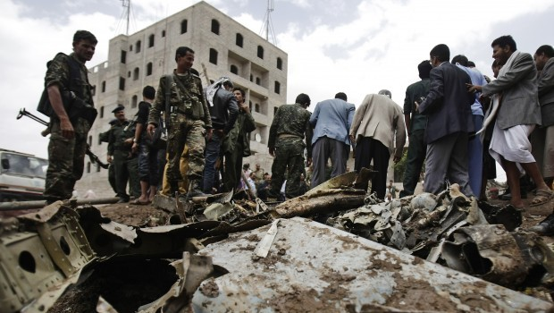 Al-Qaeda's air war in Yemen