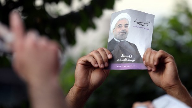 Rouhani welcomed by populace and officials