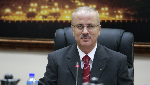 New Palestinian PM Hamdallah resigns