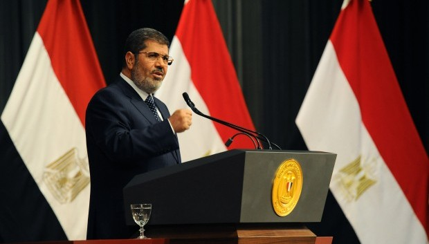 Mursi admits mistakes in speech marking first year