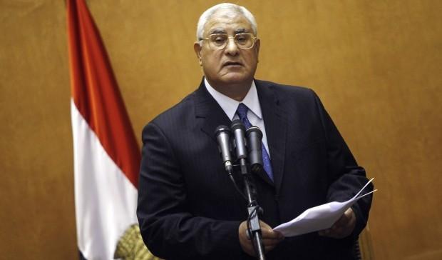 Egypt: Adly Mansour sworn in as interim president
