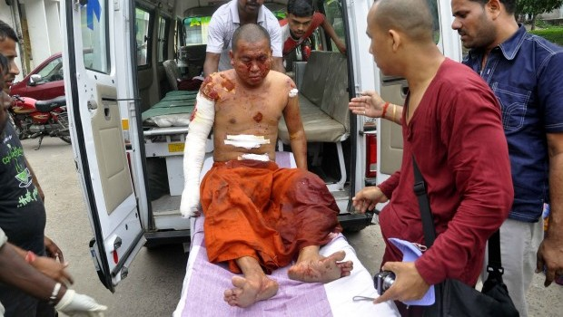 Blasts at Buddhist sites in east India injure 2